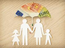 Geldparaplu beschermt kwetsbaar gezin