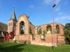822.000 euro voor de restauratie van de kerkruïne van de oude Sint-Michielskerk in Hulshout