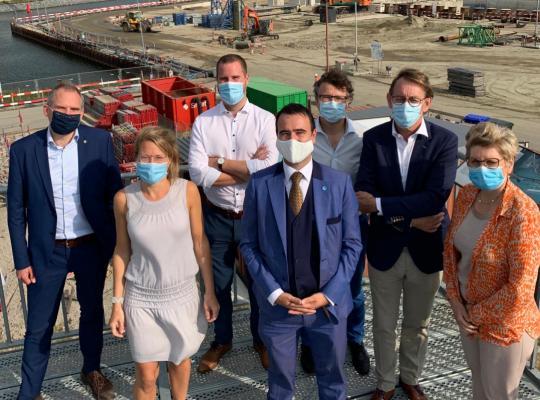 Nieuwe sluis van Terneuzen brengt grote schepen vanaf 2023 tot in Gent