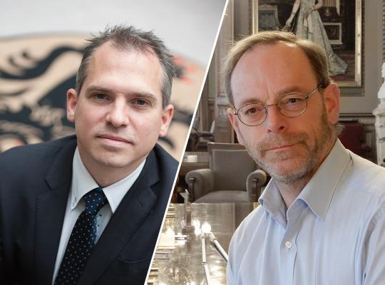Matthias Diependaele en Peter De Roover