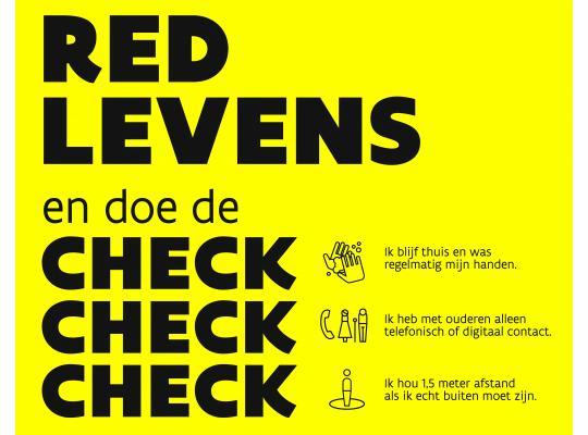 #IKREDLEVENS-campagne van de Vlaamse overheid moedigt verantwoord gedrag rond coronavirus aan