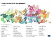 Overzichtskaart IGS in Vlaanderen